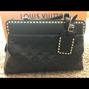 Louis VuittonMonogram Empreinte Leather Vosges MM